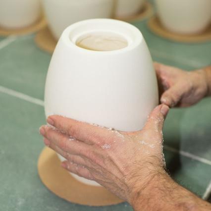 Proceso de fabricación y artesanía