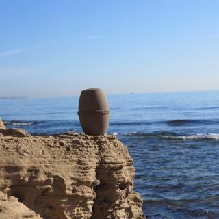 Urnas biodegradables para depositar en el mar