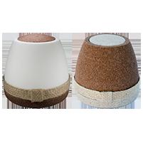 Dome: urna de sal y arena  para mascota