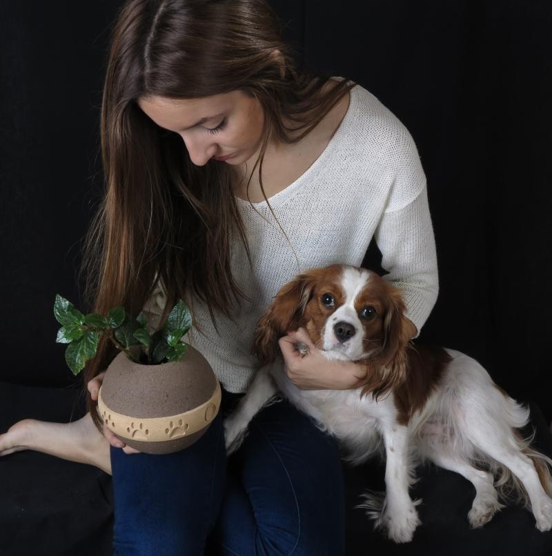 Urnas biodegradables para mascotas